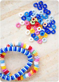 Armband av smälta pärlor – Melted bead bracelet | Craft & Creativity – Pyssel & DIY