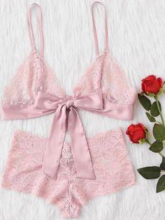 be2886102fe7b Street Pacific pretty lace lingerie set Sleepwear Women