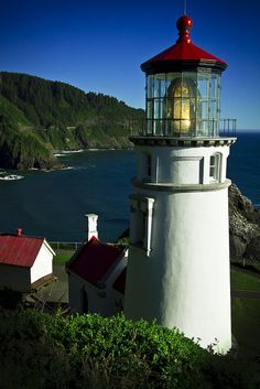 Heceta Lighthouse, Oregon Coastline