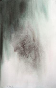 Je serai là - Pintura, 64x101 cm ©2014 por Muriel Buthier-Chartrain - Arte abstrata, Papel, Arte abstrata, abstrait, aquarelle, Buthier-Chartrain, Châteauneuf-en-Thymerais, abstrait, galerie peinture