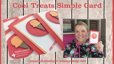 Stampin' Up! Cool Treats Simple Card - Occasions Catalog! by Robyn Cardon