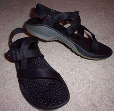 Chaco Z Volv(?) Classic Strappy Water Sandals WOMENS Shoe Sz 8 Black, Super cute #Chaco #Strappy