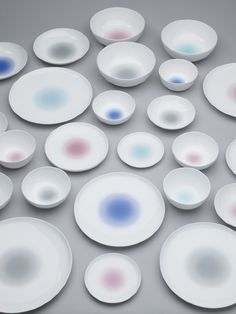 Cloud and Macaroon collection by Bodo Sperlein #porcelain #design