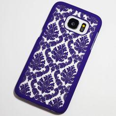 Purple Vintage Pattern Samsung Galaxy S7 Case - Retailite