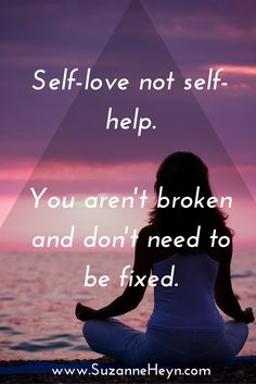 Love yourself exactly as you are! Flaws and all. Visit SuzanneHeyn.com for a powerful, free guided meditation for emotional healing.