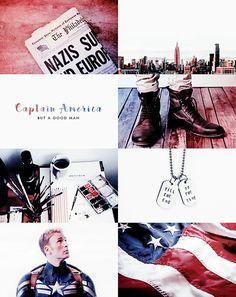 Captain America: nice aesthetic part 2!