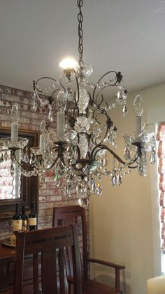 Home is Where the Heart is: Dinning Room with Bling