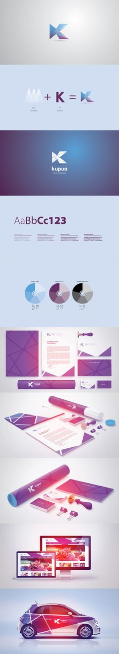 Corporate Identity / Kupua, event management company