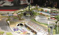 slot car track (© Perry Stern)