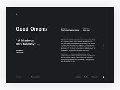 Design Exercise: Book Review by Aleksandr Anciutin on Dribbble