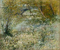 Vincent Van Gogh - riva in primavera