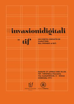 I want to talk to you about a super cool project, called digital invasions {invasioni digitali}. the idea involves the organization of several mini-events (invasions) at museums or art venues outside the mainstream, in italy during the week from 20 to 28 of april. #InvasioniDigitali