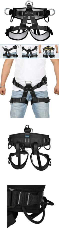 Harnesses 50815: Pro Tree Carving Fall Protection Rock Climbing Equip Gear Rappelling Harness Saf -> BUY IT NOW ONLY: $58.98 on eBay!