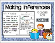 """FREE LANGUAGE ARTS LESSON - """"Inferences FREE"""" - Go to The Best of Teacher Entrepreneurs for this and hundreds of free lessons. 1st - 2nd Grade  #FreeLesson  #LanguageArts  http://www.thebestofteacherentrepreneurs.net/2016/05/free-language-arts-lesson-inferences.html"""