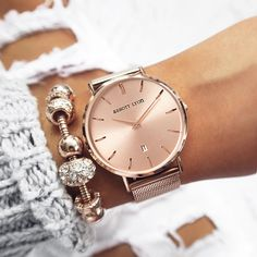 Rose Gold perfection with our Stellar 40! www.abbottlyon.com