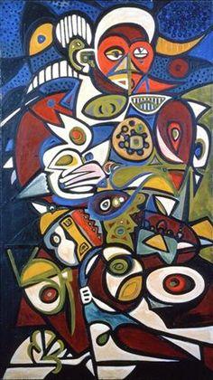 Bird Woman - Richard Pousette-Dart