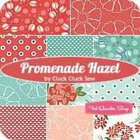 Promenade Hazel Fat Quarter Bundle<BR>Cluck Cluck Sew for Windham Fabrics