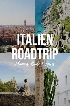 Unser Italien Roadtrip - Planung, Route und Tipps