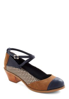 Sensational Seminar Heel | ModCloth-professional and cute! NEED