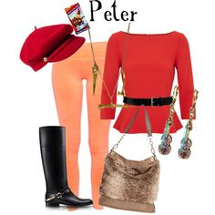 """""""Peter and the Wolf"""" by marybethschultz on Polyvore"""
