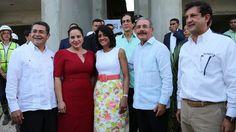 Danilo Medina y el presidente de Honduras visitan La Nueva Barquita y Ciudad Juan Bosch
