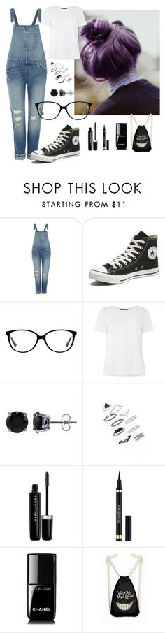 a little bit crazy by penguinx14 on Polyvore featuring MaxMara, Levi's, Converse, Topshop, BERRICLE, Vogue, Marc Jacobs, Yves Saint Laurent and Chanel