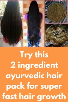 Try this 2 ingredient ayurvedic hair pack for super fast hair growth - Top Trends Hair Remedies For Growth, Hair Loss Remedies, Healthy Hair Tips, Healthy Hair Growth, Coconut Milk Shampoo, Extreme Hair Growth, Castor Oil For Hair Growth, Hair Pack, Henna Hair