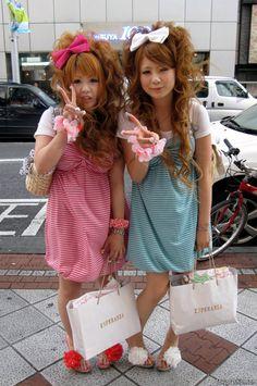 Shibuya, Tokyo, Japan. Style is from Harajuku