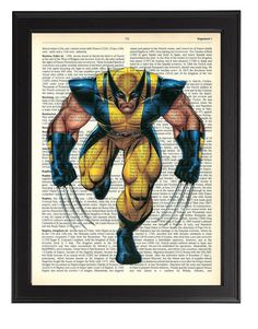 Hey, I found this really awesome Etsy listing at https://www.etsy.com/listing/185074875/wolverine-art-print-marvel-wolverine