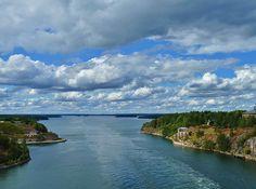 Sailing the Swedish Archipelago to Stockholm,Sweden