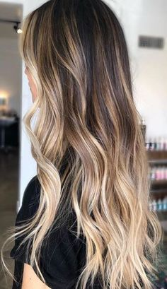 Bronde Balayage, Balayage Hair Blonde, Brown Blonde Hair, Brunette Hair, Full Balayage, Cabelo Ombre Hair, Baliage Hair, Ombre Hair Color, Reverse Ombre Hair