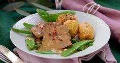 Bjud på festlig roséfläskfilé med ugnsbakad parmesanpotatis!