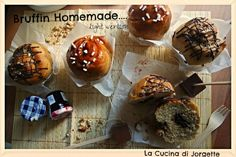 la cucina di jorgette: Sweet Bruffin Homemade.... in versione Light!!!  easy recipe light version ;)