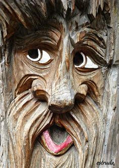 Portrait Of The Wooden Man by Estruda on deviantART