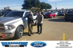 https://flic.kr/p/J1cWYa | #HappyBirthday to Arturo from Tyler Preston at Waxahachie Ford! | deliverymaxx.com/DealerReviews.aspx?DealerCode=E749