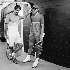 Roger & Rafa / Australian Open 2014 :)