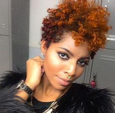 Light Complected Ebony Beauty