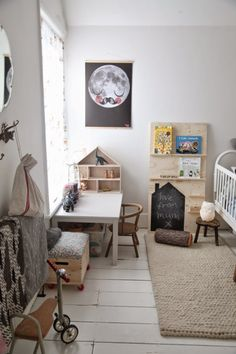 junkaholique: winterprojekte rund ums haus junkaholique: winter projects around the house Nursery Room, Nursery Decor, Room Decor, Tidy Room, Deco Kids, Nursery Inspiration, Kid Spaces, Kids Decor, Girls Bedroom