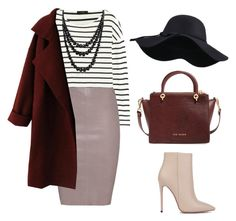 """""""Wine"""" by souz-zverey ❤ liked on Polyvore featuring J.Crew, Jitrois, Ted Baker, Akira Black Label and Bling Jewelry"""
