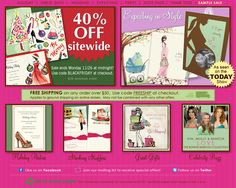 Today only - 40% OFF everything Holiday!  www.bonniemarcus.com  Bonnie Marcus Collection