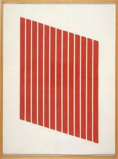 Donald Judd woodcut