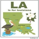 State of Louisiana Theme Unit - Printables and Worksheets