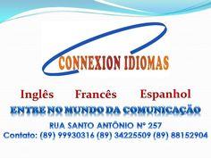 CONNEXION IDIOMAS: CONTATO