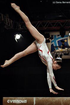 Aliya Mustafina (Russia) gymnastics gymnast balance beam #KyFun