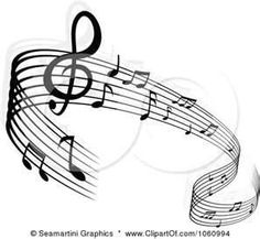Clip Art Illustration Of A Background Staff And Music Notes Music Staff Tattoo, Music Tattoos, New Tattoos, Cool Tattoos, Tattoo You, Tattoo Quotes, Tattoo Musica, Clip Art Pictures, Hummingbird Tattoo