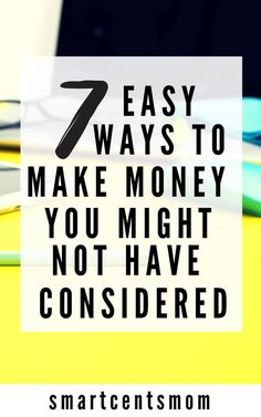 I'm always looking for ways to make extra money! These are great tips and tricks to make money in your spare time. Can't wait to start earning extra cash. ideas to make money | passive income | extra money | extra cash | work at home | personal finance | tips and tricks | passive income streams | paid surveys #moneytips #extramoney #extracash #workfromhome #SideHustle