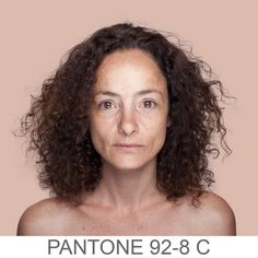 Humanae  is a chromatic inventory, a project that reflects on the colors beyond the borders of our codes by referencing the PANTONE® color scheme.    The project development is based on a series of portraits whose background is dyed with the exact Pantone® tone extracted from a sample of 11x11 pixels of the portrayed's face. The project's objective is to record and catalog all possible human skin tones.