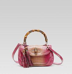 Gucci  Bamboo Medium Top Handle Bag