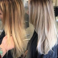 After doing some #balayage, @xostylistxo toned with #KenraColor SV & VP Rapid Toners for 5 minutes to create this gorgeous blonde. Love it!  #Kenra #Blonde