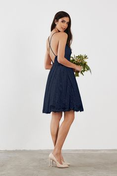 Shop Weddington Way Bridesmaid Dress - Hadley in Lace at Weddington Way. Find the perfect made-to-order bridesmaid dresses for your bridal party in your favorite color, style and fabric at Weddington Way.